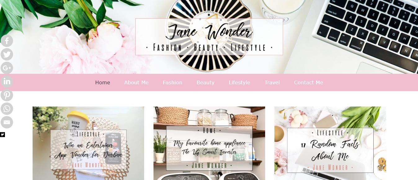 Jane Wonder