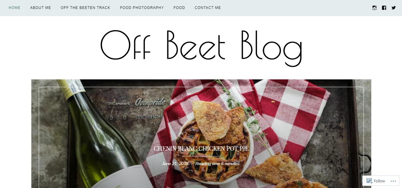 Off Beet Blog