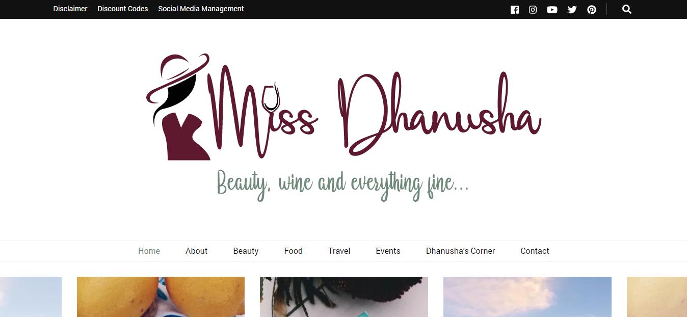 Miss Dhanusha